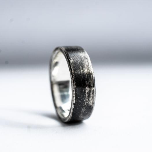 Мужское крупное кольцо