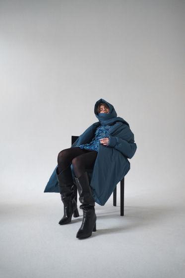 Зимнее пальто одеяло