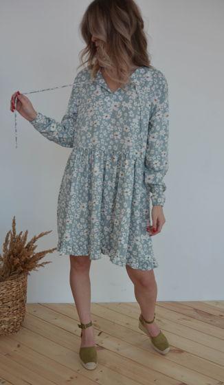 Свободное платье из вискозы Mia