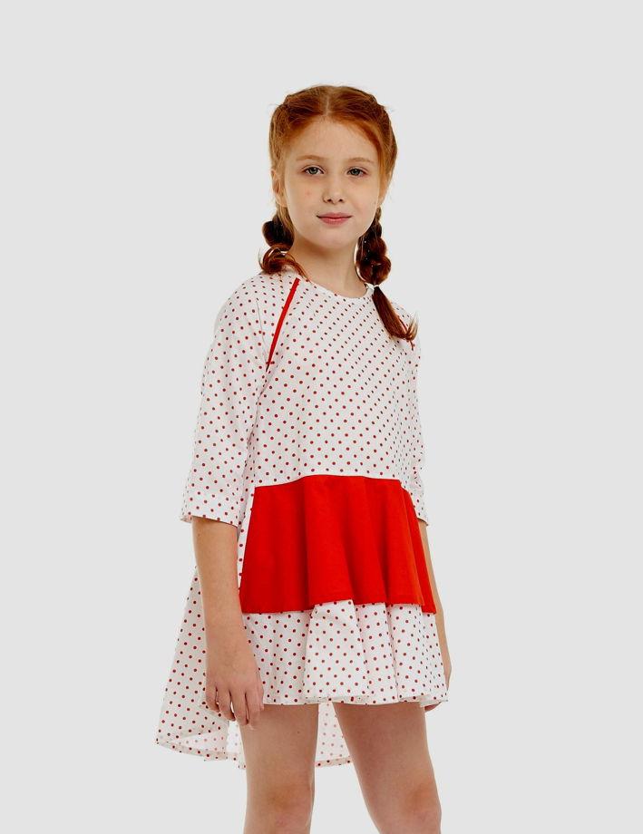 Платье-туника МИШЕЛЬ (хлопок, размер 116-122)