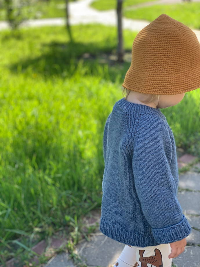 Детские панамы из эко хлопка