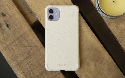 Биоразлагаемый чехол SOLOMA для iPhone 12 Пшеница Бампер