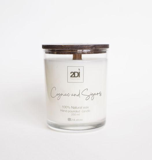 Ароматическая свеча 190 мл,Cognac & Сigars, Коньяк и сигары