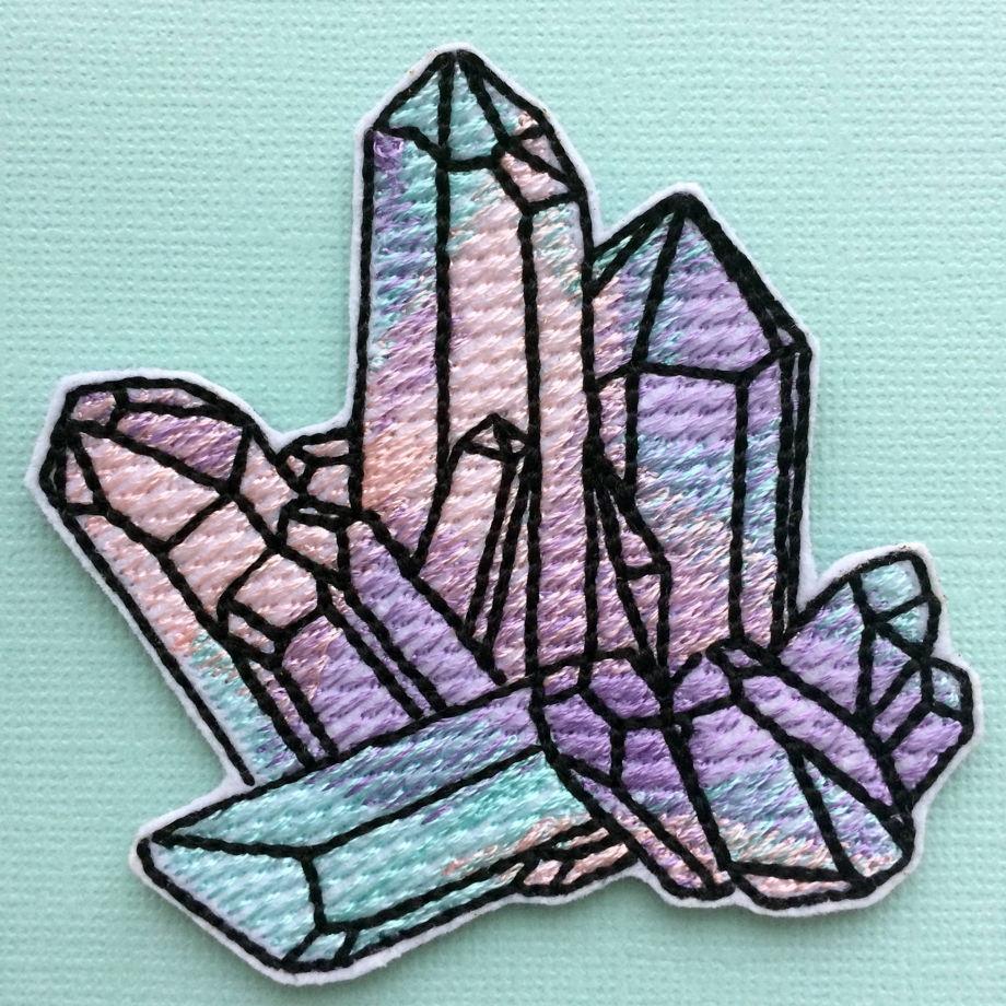 """Термоклеевая нашивка  """"кристаллы"""""""
