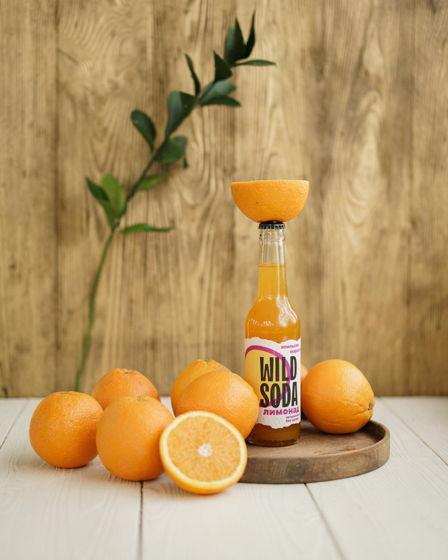 Лимонад WILD SODA апельсин-маракуйя