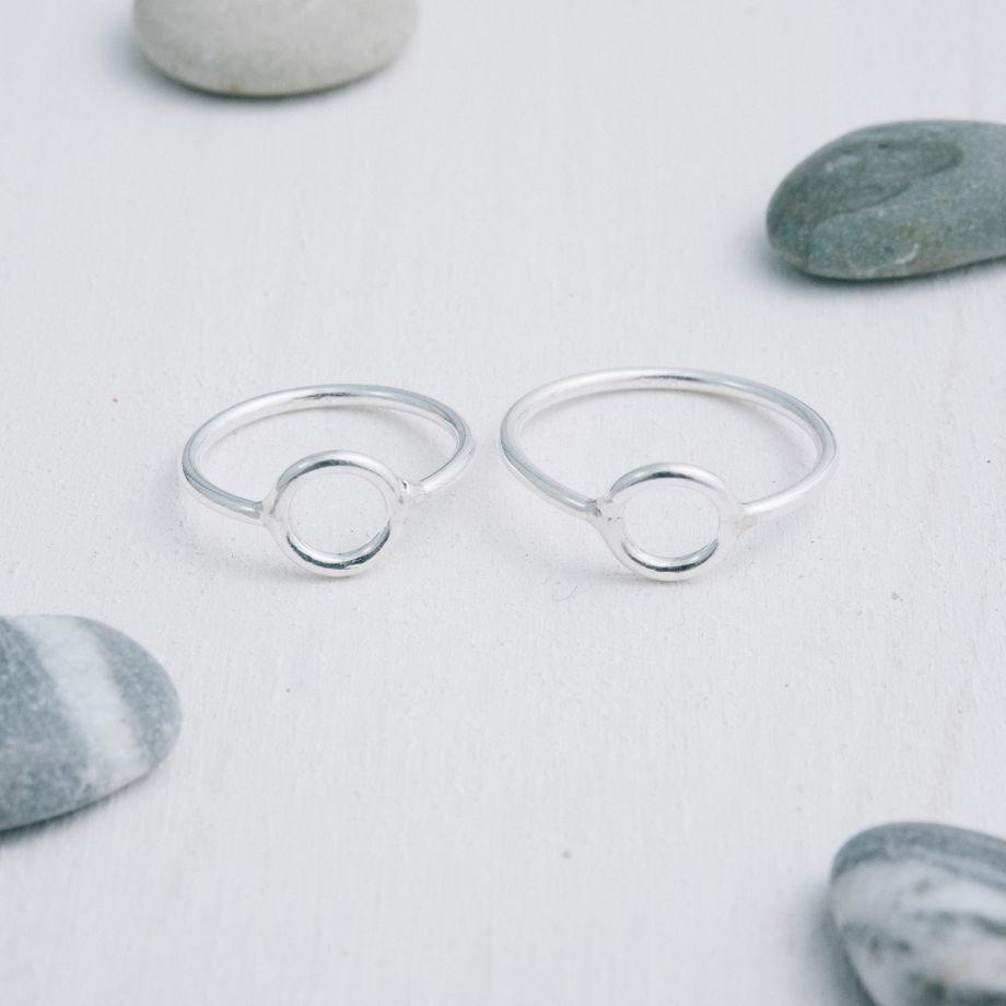 Кольцо колечко «Геометрия»