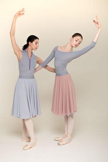 HB (двусторонняя репетиционная юбка) для танцев / хореографии