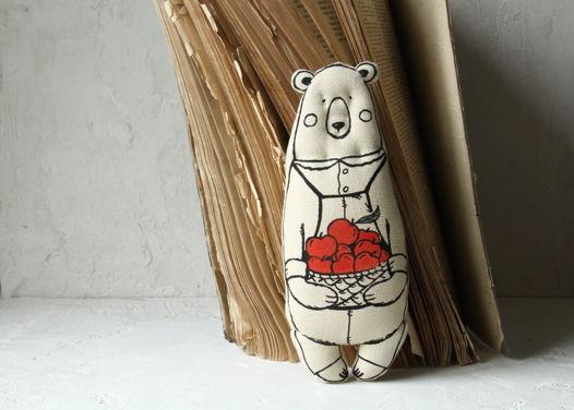 Мини медведь садовник Мишель