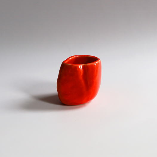 Чашка 150 мл. в цвете PANTONE® 179