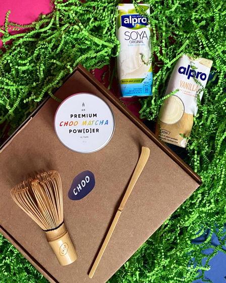 Choo Matcha NY Gift Box — подарочный набор