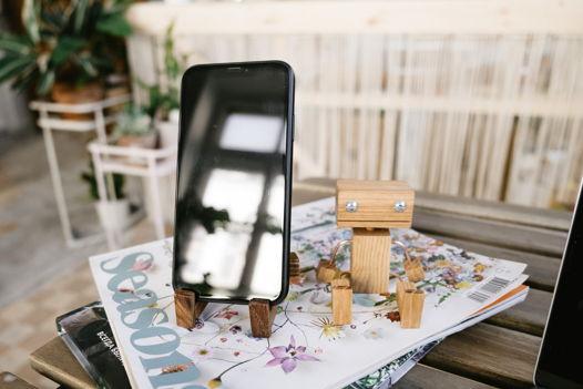 """Игрушка деревянная """"Робот"""""""
