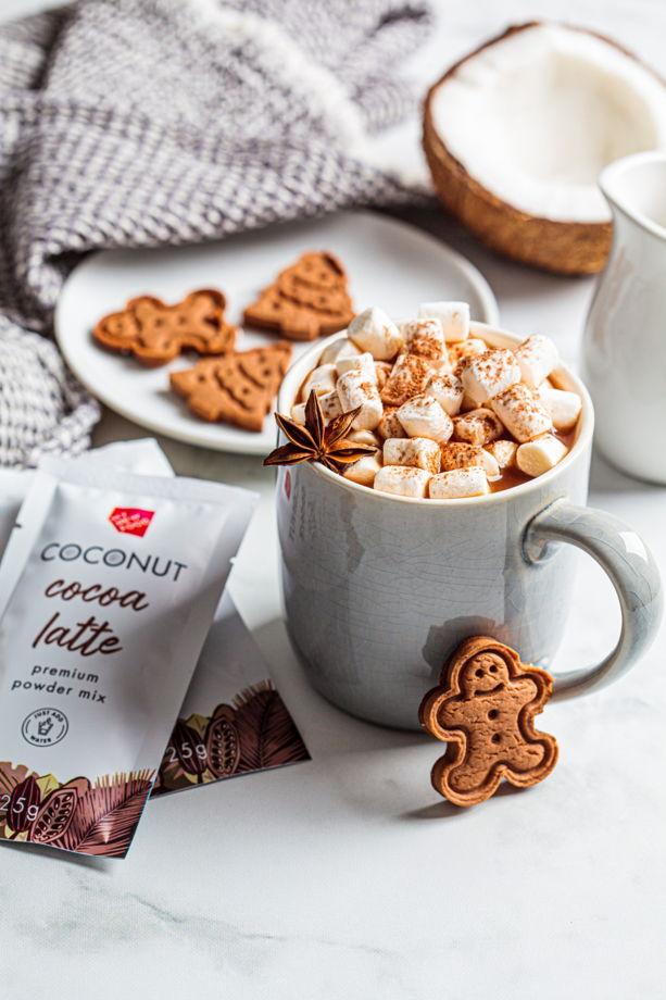 Какао на кокосовом молоке MYNEWFOOD