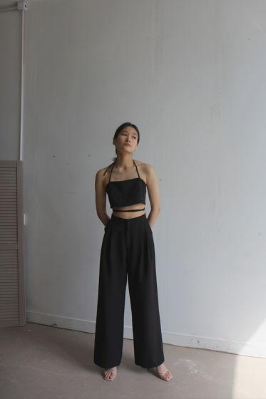 брюки с защипами
