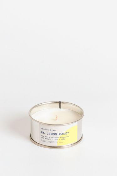 Свеча соевая Smells Like. #5 Lemon Candy, 100г