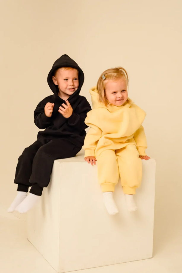 Детский костюм с начесов в стиле Oversize