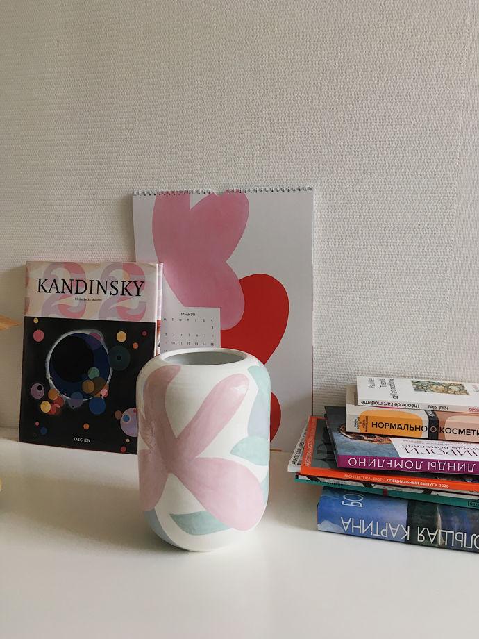 Керамическая ваза JUNGLE