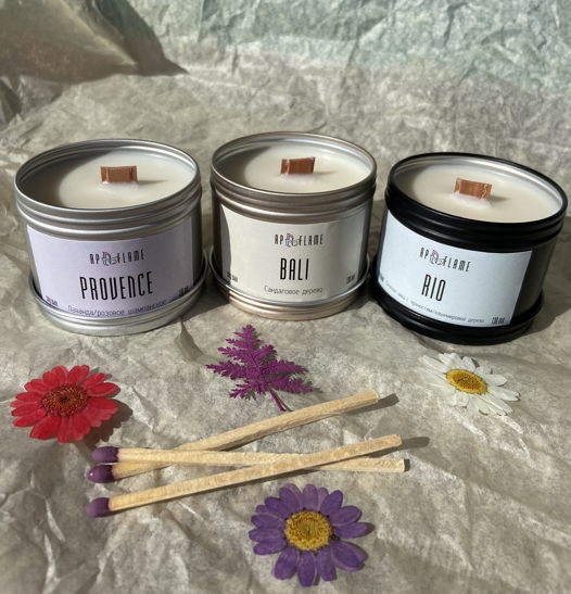 Коллекция экологичных и стильных свечей «Путешествие твоей души»