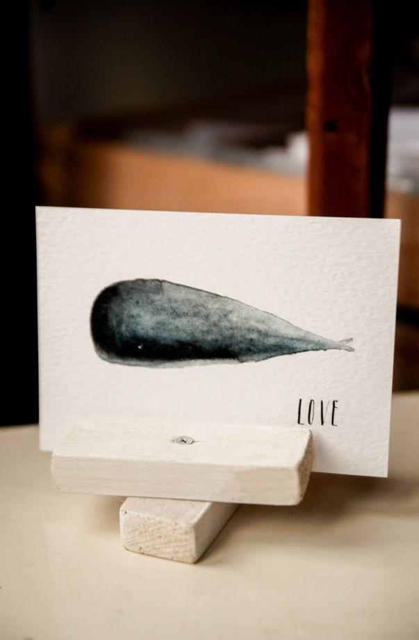 """Набор открыток """" Киты на одной волне"""""""