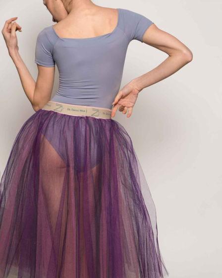 Репетиционная юбка-шопенка colour для танцев / хореографии