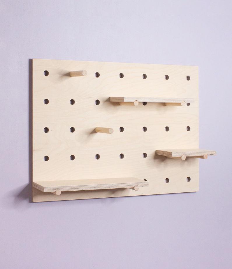 Полка (пегборд) Polka-palka, комплект, 70х50см