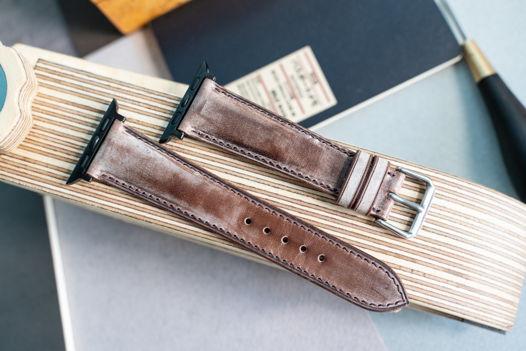 Ремешок для часов Apple Watch из коричневой кожи