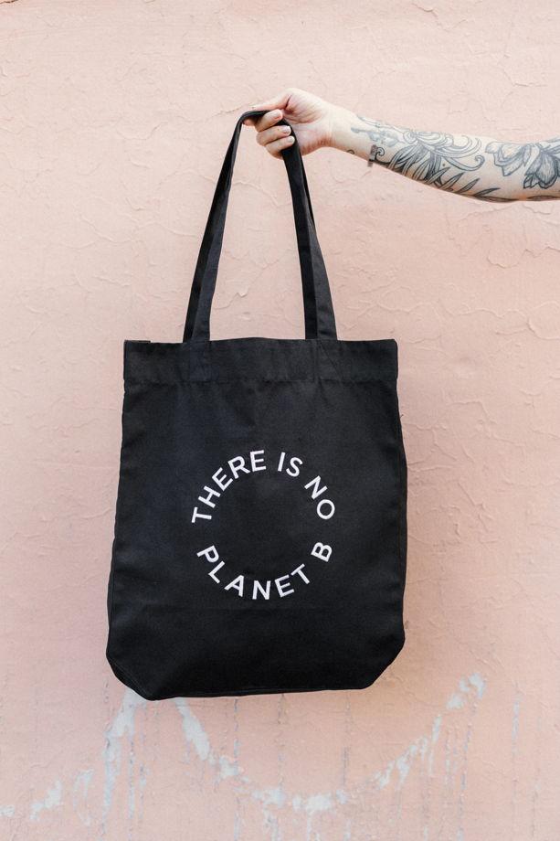 """Эко-сумка (шоппер) """"THERE IS NO PLANET B"""""""