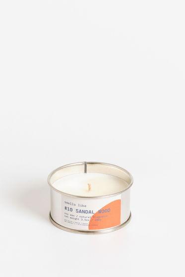 Свеча соевая Smells Like. #10 Sandal Wood, 100г