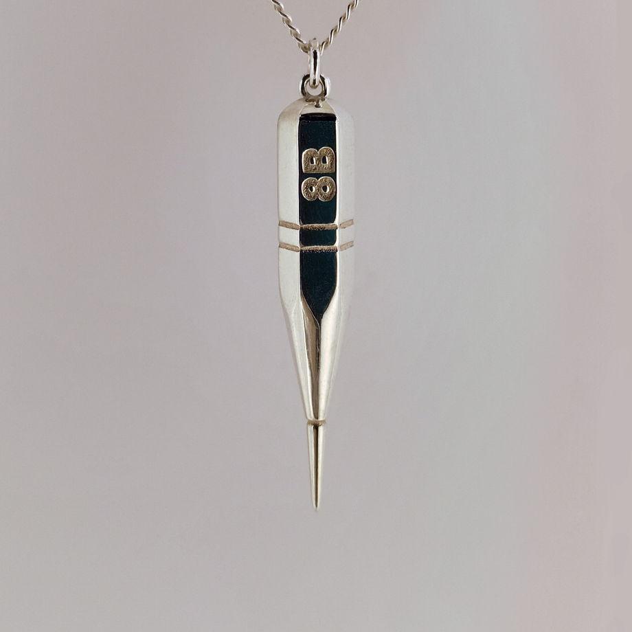 Серебряная подвеска Непростой карандаш 8В МАРХИ