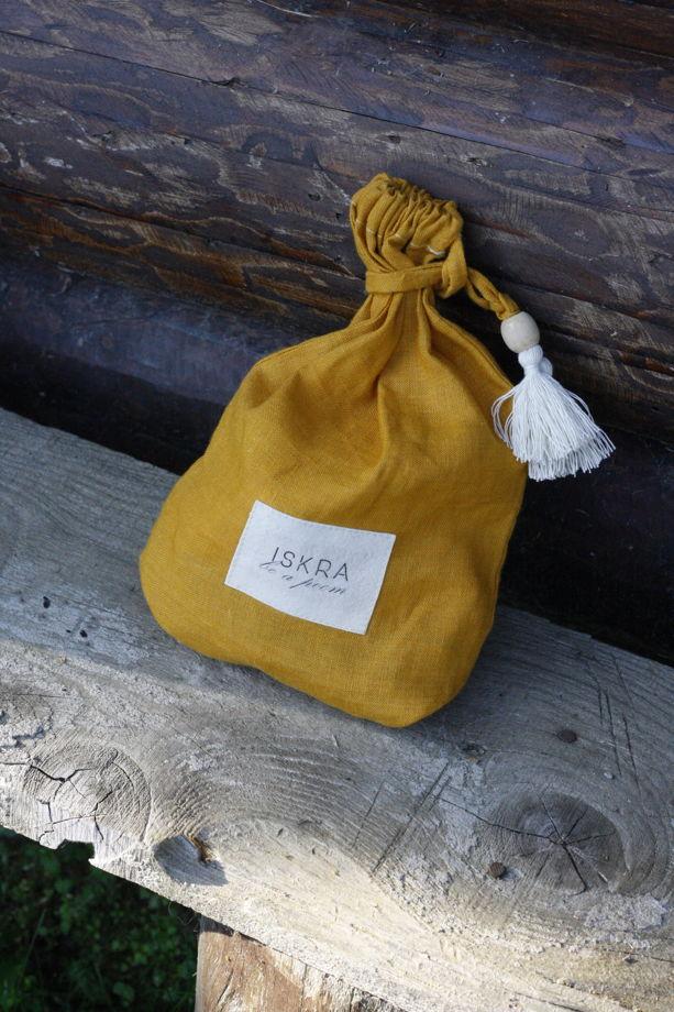 Мешок льняной для хранения