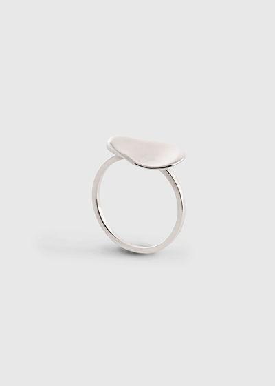 """Кольцо в форме гальки малое """"Тифлис"""". Серебро"""