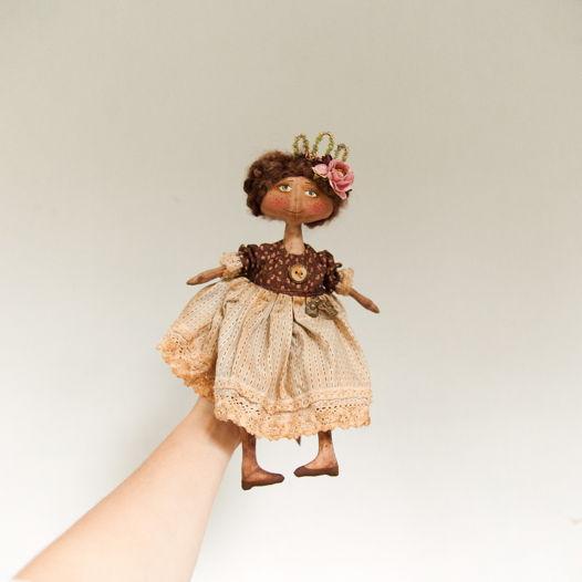 Чердачная кукла ручной работы
