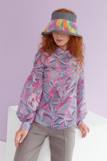 Блуза DERBY розовые цветы
