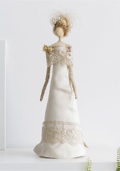 Интерьерная кукла для декора «Рейчел»