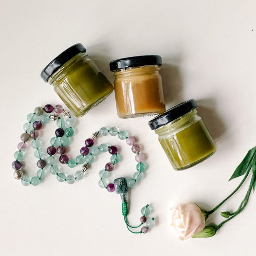 Натуральные бальзамы на травах и эфирных маслах - раскрытие Манипура чакры