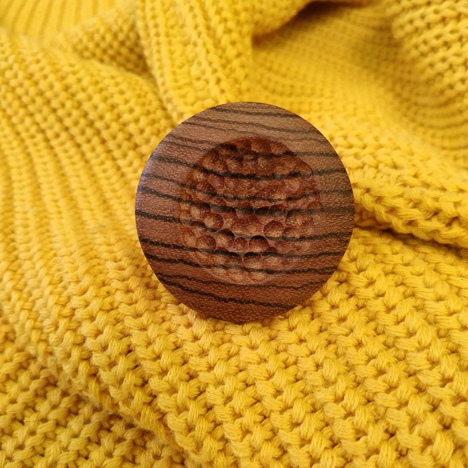"""Кольцо из дерева """"Космос"""""""