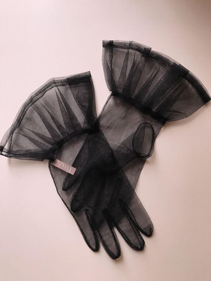 Перчатки с баской