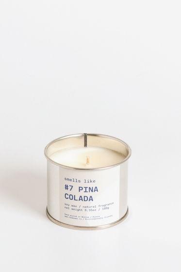 Свеча соевая Smells Like. #7 Pina Colada, 180г