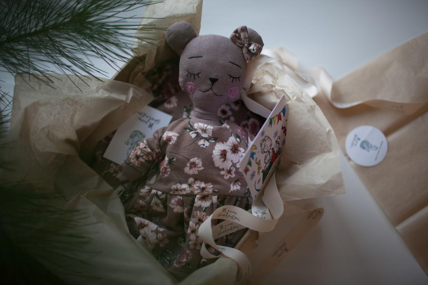 Новогодний box Нежные цветы