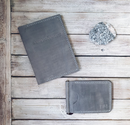 Бумажник с зажимом Claw Grey