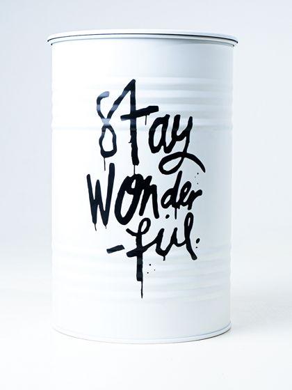 Декоративная бочка Stay wonderful