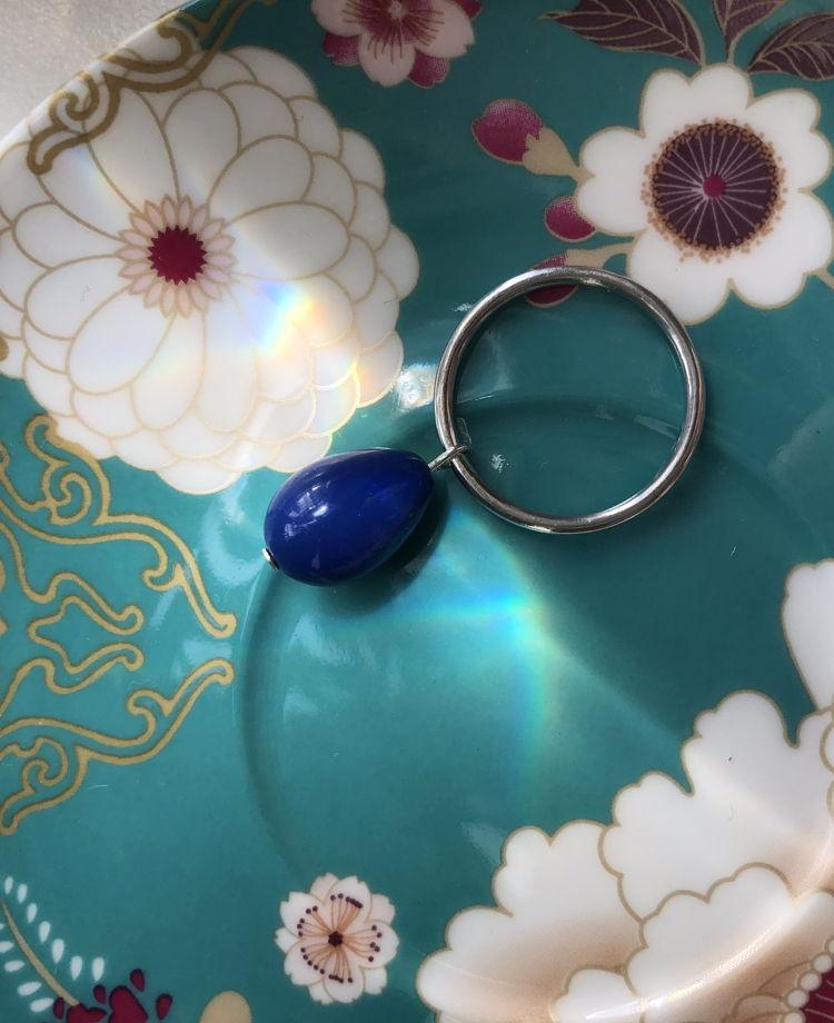 Кольцо с подвесной бусиной Fortune Handy Candy