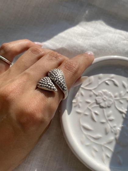 Стильное кольцо ручной работы