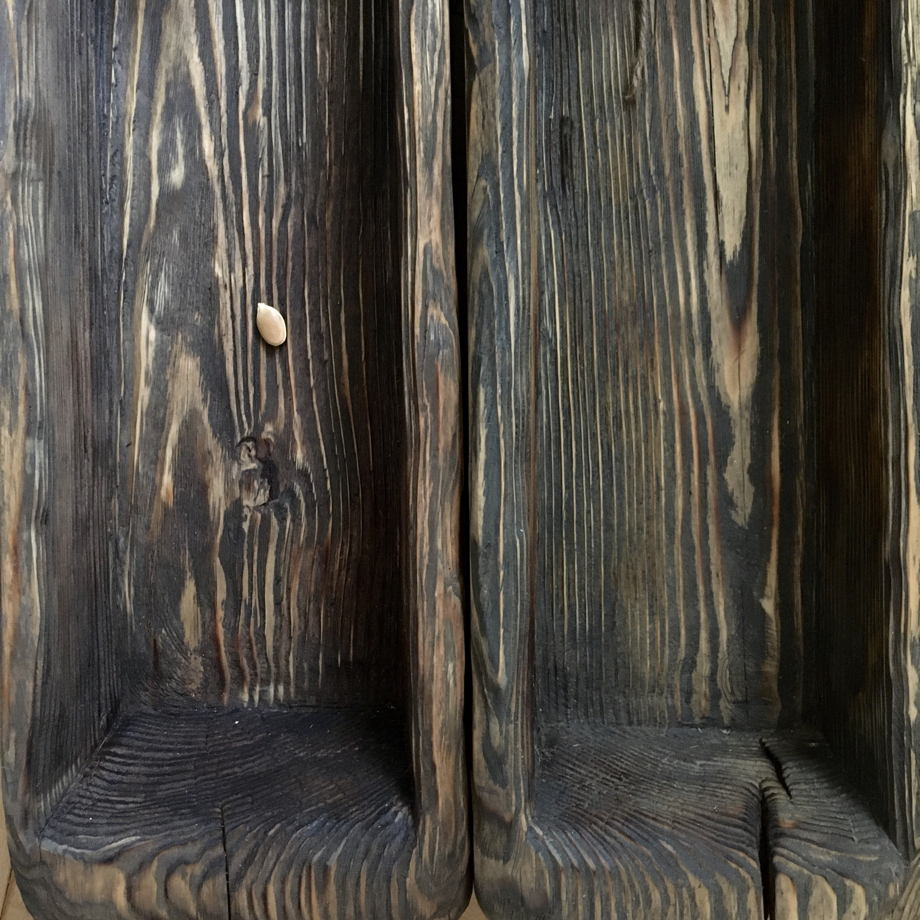 Деревянный ящик цельновыдолбленный Большое корыто