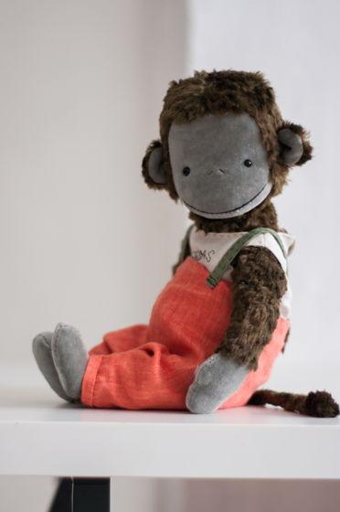 Тедди обезьянка Луи