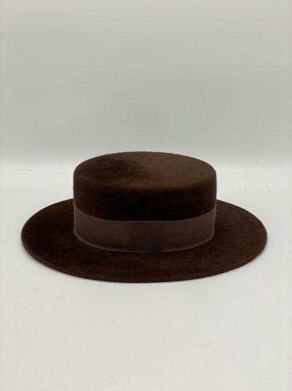 Шляпы канотье из фетра
