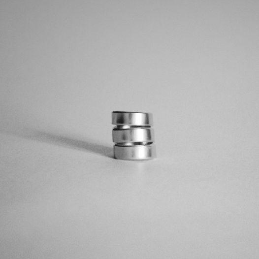 Тройное кольцо спираль алюминий