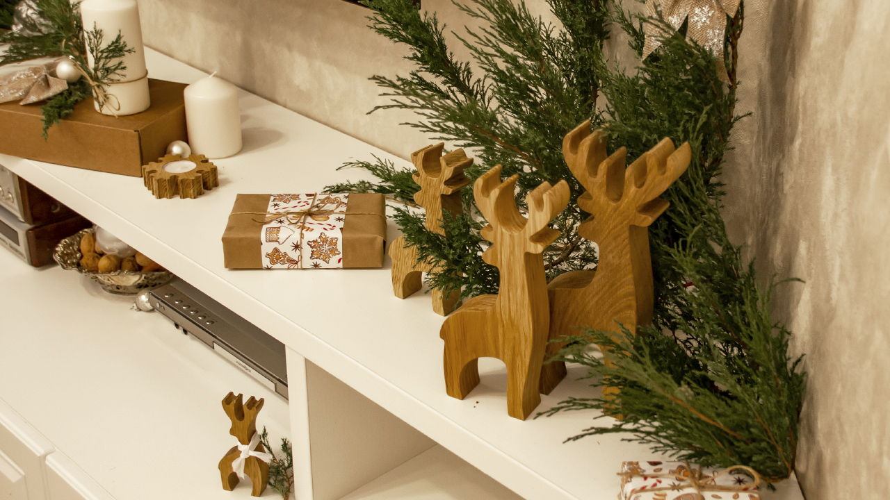 Набор декора из дуба-олени Biggi-3