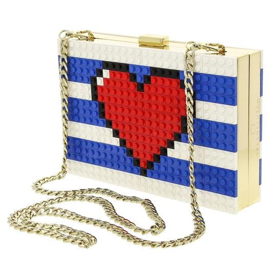 """Клатч. Лего-клатч """"Сердце моряка"""""""