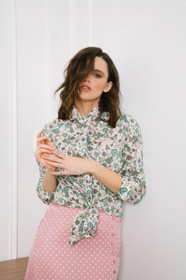 """Женская рубашка с принтом """"Forest"""""""