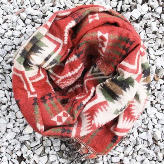 Шерстяной шарф Лумбини